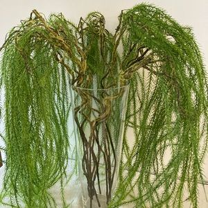Dramatic Faux Weeping Leaves Branches